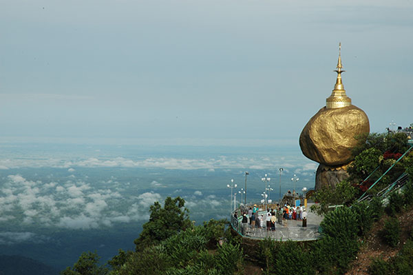 Golden Rock Kyaikhtiyo Myanmar Travel